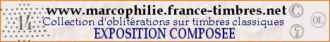 Oblitérations sur Timbres de France La plus grande exposition de collections groupées et marcophiles du Web .