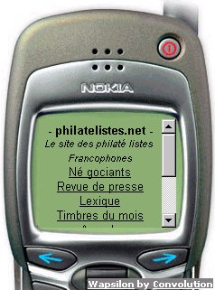 Philatelistes.net sur Nokia